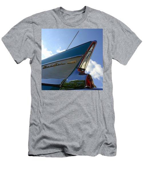 1957 Chevrolet Bel Air Fin Men's T-Shirt (Athletic Fit)
