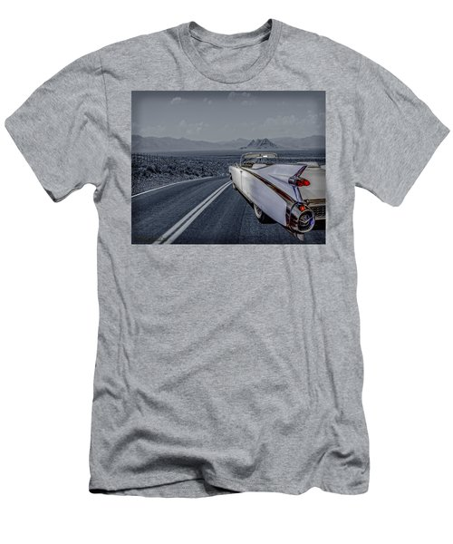 1959 Cadillac Eldorado Cool Night Men's T-Shirt (Athletic Fit)