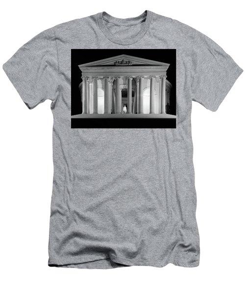 1960s Thomas Jefferson Memorial Lit Men's T-Shirt (Athletic Fit)