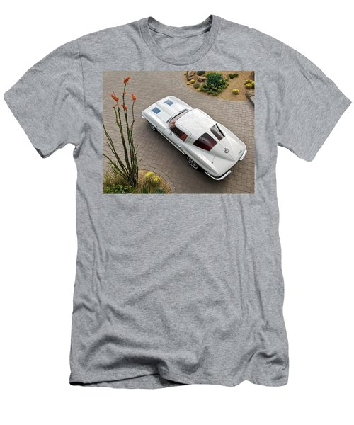 1963 Chevrolet Corvette Split Window -440c Men's T-Shirt (Athletic Fit)