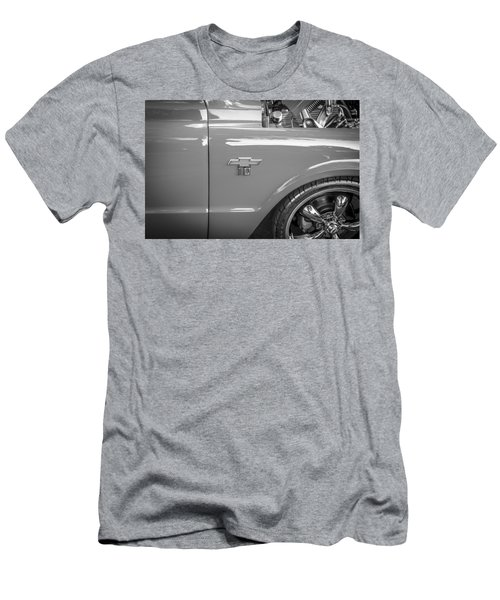 1967 Chevy Silverado Pick Up Truck  Bw Men's T-Shirt (Athletic Fit)