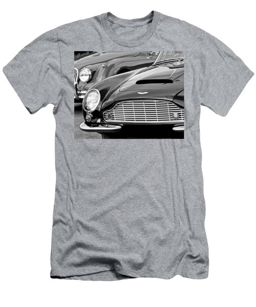 1965 Aston Martin Db6 Short Chassis Volante Men's T-Shirt (Athletic Fit)