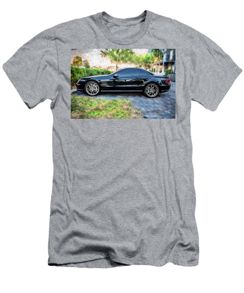 2006 Mercedes Benz Sl55 V8 Kompressor Coupe Painted  Men's T-Shirt (Athletic Fit)