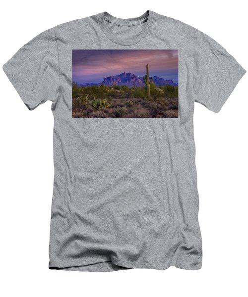 A Beautiful Desert Evening  Men's T-Shirt (Athletic Fit)