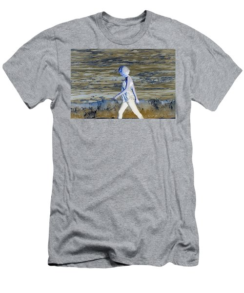 A Chance Of Something Men's T-Shirt (Slim Fit) by Nick David