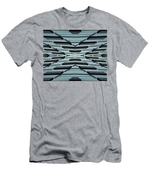 Abstract Buildings 3 Men's T-Shirt (Athletic Fit)