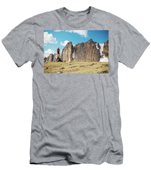 Backpacking Men's T-Shirt (Athletic Fit)