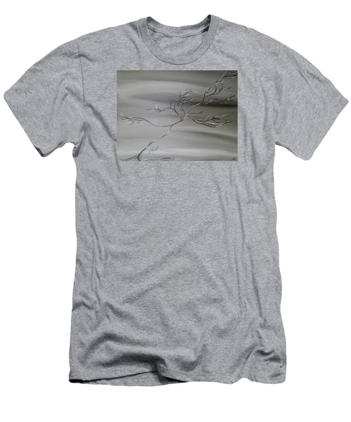 2 Colors Men's T-Shirt (Athletic Fit)