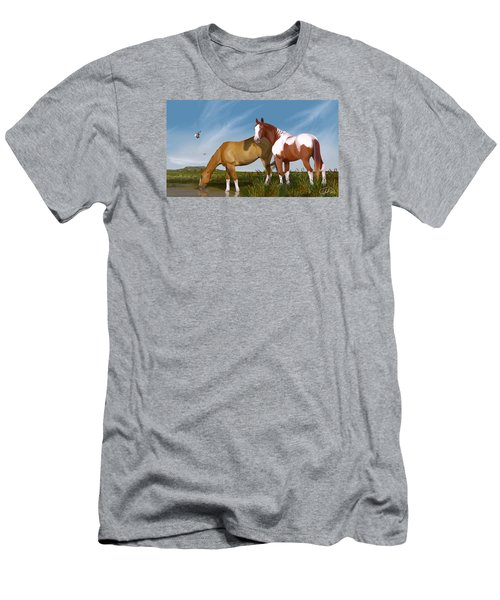 Destiny On Buffalo Plateau Men's T-Shirt (Athletic Fit)