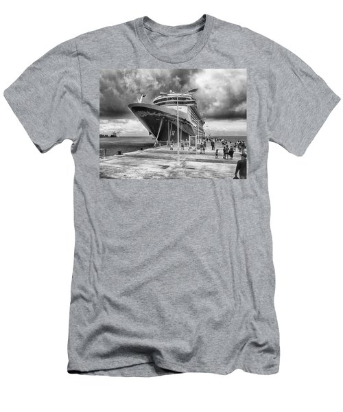 Men's T-Shirt (Slim Fit) featuring the photograph Disney Fantasy by Howard Salmon