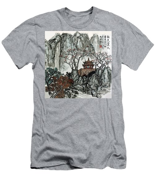Men's T-Shirt (Slim Fit) featuring the photograph Fall Colors by Yufeng Wang
