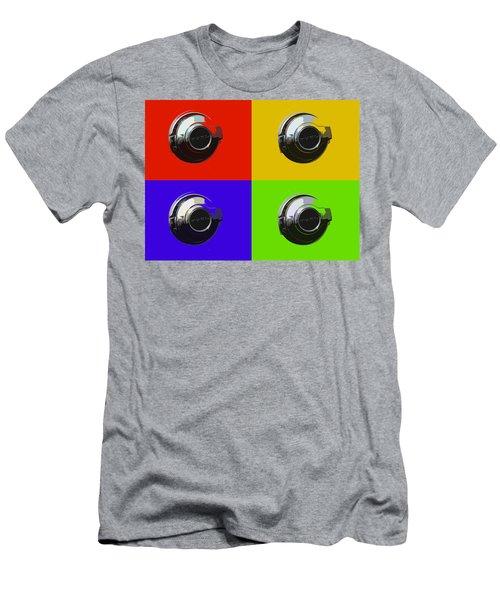 Fuel Cap In Bold Color Men's T-Shirt (Athletic Fit)