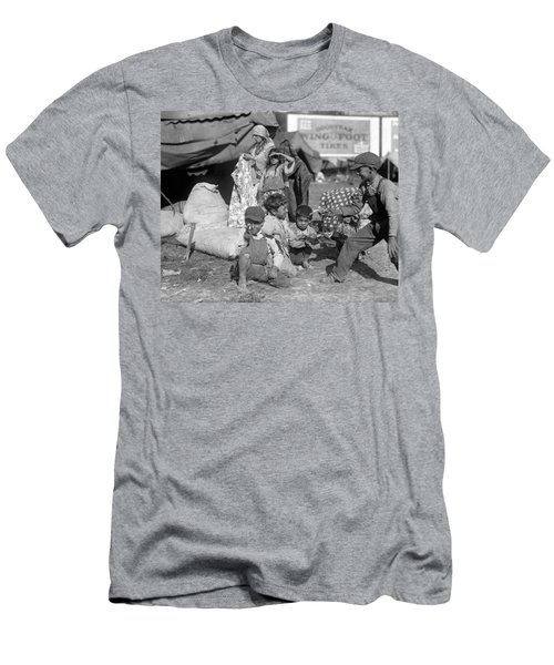 Men's T-Shirt (Slim Fit) featuring the photograph Gypsies, C1923 by Granger