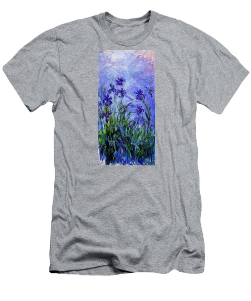 Irises Men's T-Shirt (Slim Fit) by Celestial Images