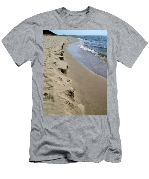 Lake Michigan Shoreline Men's T-Shirt (Athletic Fit)