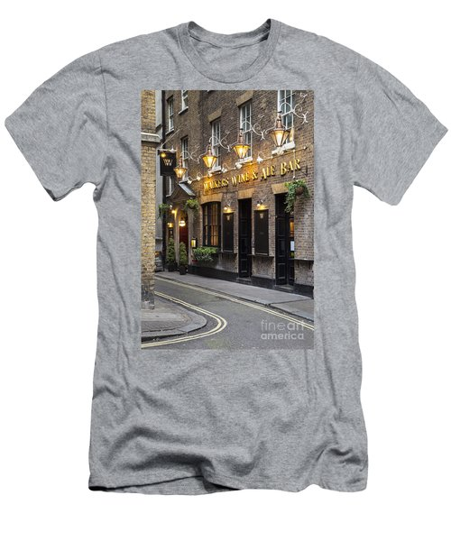 Men's T-Shirt (Athletic Fit) featuring the photograph London Pub by Brian Jannsen