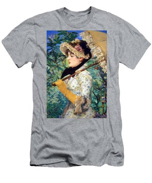 Men's T-Shirt (Slim Fit) featuring the photograph Manet's Spring by Cora Wandel