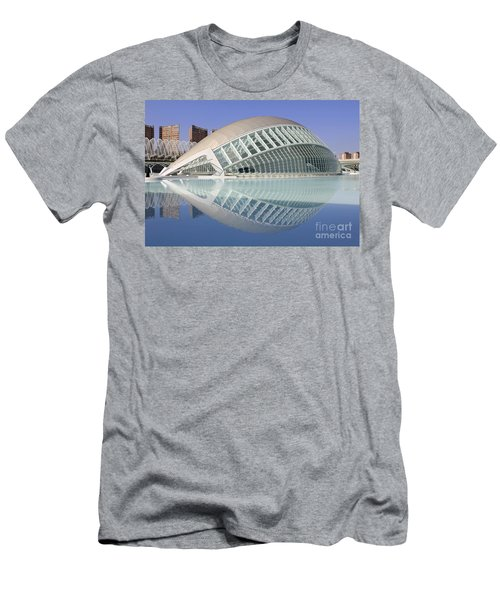The Hemisferic In Valencia Spain Men's T-Shirt (Athletic Fit)