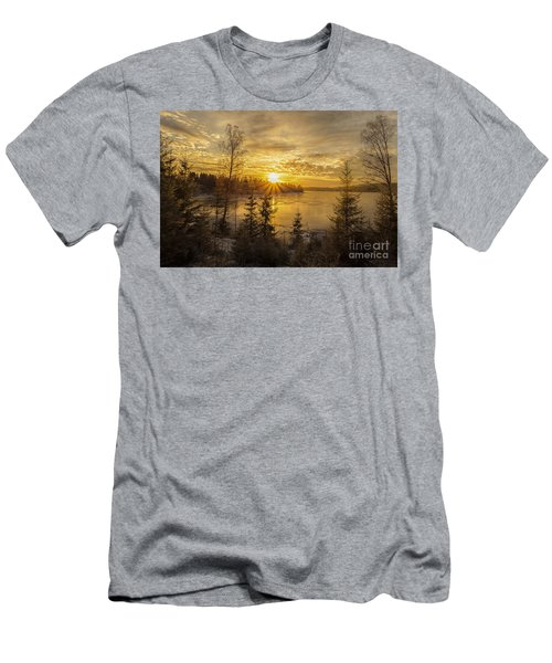 Men's T-Shirt (Slim Fit) featuring the photograph Norway by Rose-Maries Pictures