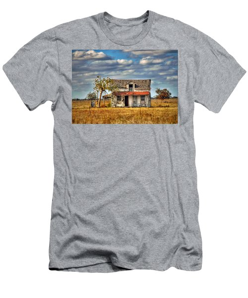Men's T-Shirt (Slim Fit) featuring the photograph Old Home by Savannah Gibbs