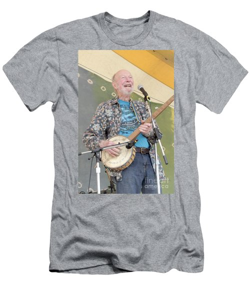 Pete Seeger Men's T-Shirt (Athletic Fit)