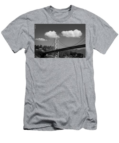 San Francisco Bay Bridge Men's T-Shirt (Athletic Fit)