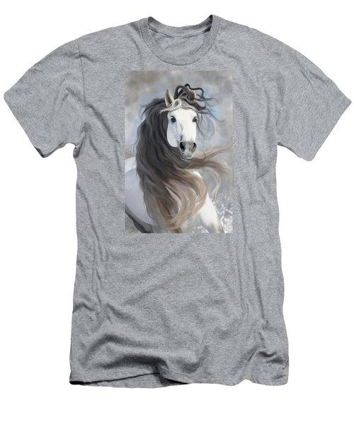 Snowflake Men's T-Shirt (Slim Fit) by Kate Black