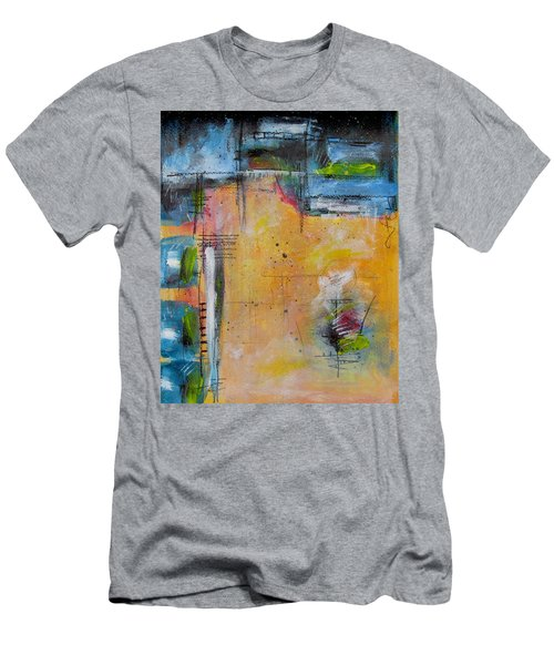 Spring Men's T-Shirt (Slim Fit) by Nicole Nadeau