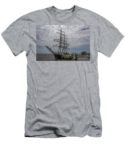 Men's T-Shirt (Slim Fit) featuring the photograph Tall Ship Gunilla by Dale Powell