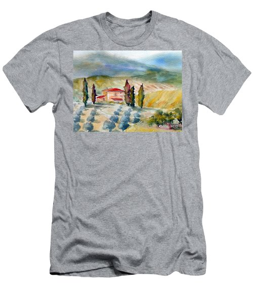 Tuscan Landscape Men's T-Shirt (Athletic Fit)
