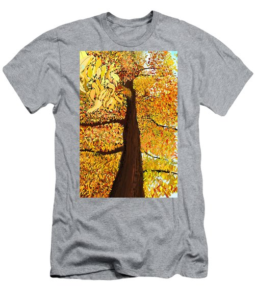 Up Tree Men's T-Shirt (Athletic Fit)
