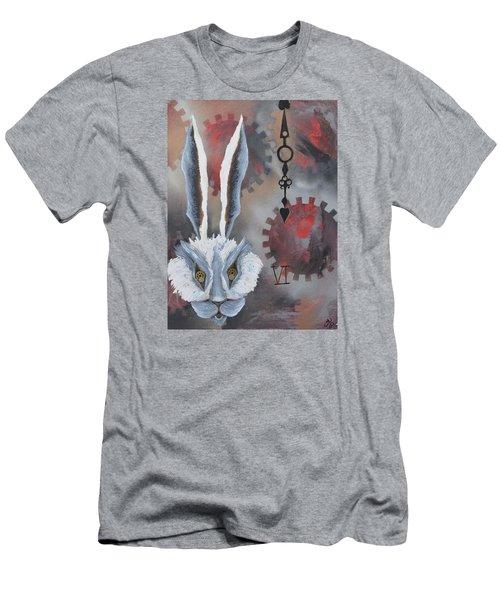 White Rabbit Men's T-Shirt (Athletic Fit)