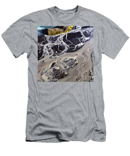Iceland Aerial Photo Men's T-Shirt (Athletic Fit)