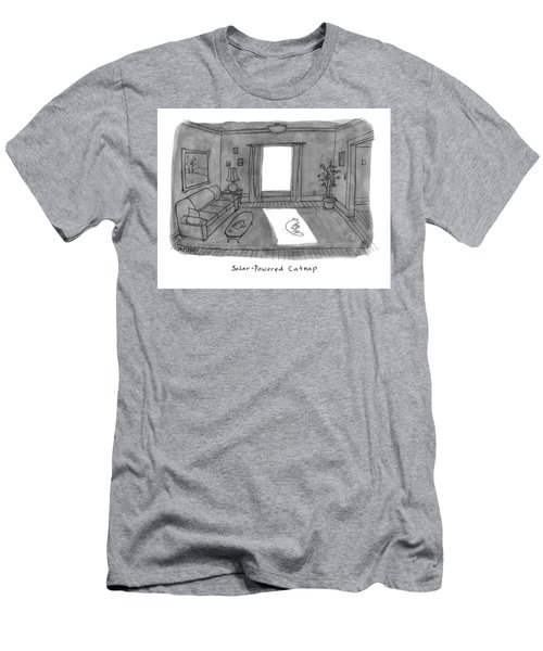 Solar Powered Catnap Men's T-Shirt (Athletic Fit)