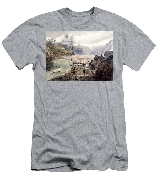 California Gold Rush, 1853 Men's T-Shirt (Athletic Fit)