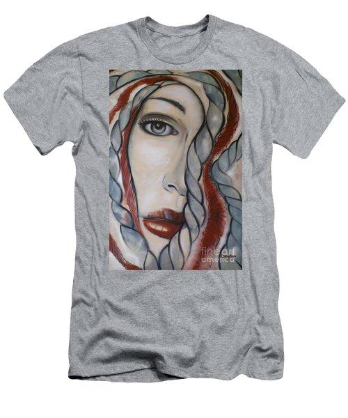 Melancholy 090409 Men's T-Shirt (Slim Fit) by Selena Boron