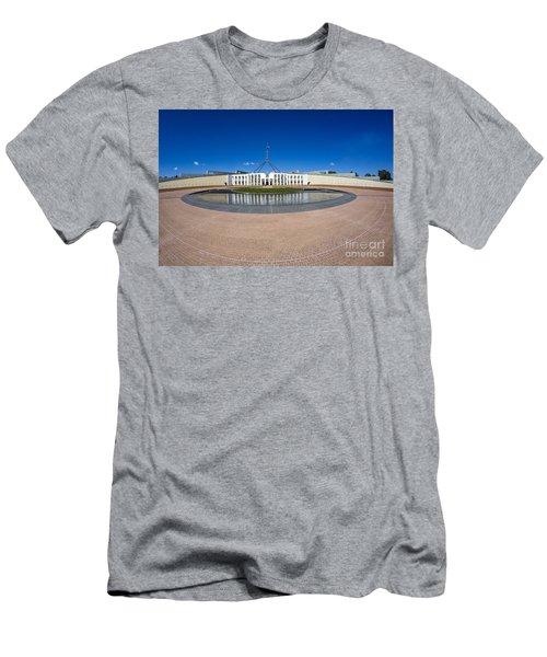 Parliament House Australia Men's T-Shirt (Athletic Fit)