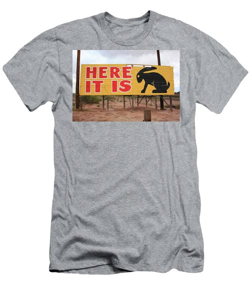 Route 66 - Jack Rabbit Trading Post Men's T-Shirt (Athletic Fit)