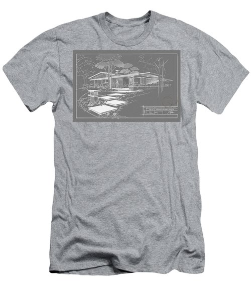 301 Cypress Drive - Charcoal Men's T-Shirt (Athletic Fit)