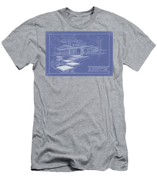 301 Cypress Drive - Reverse Men's T-Shirt (Athletic Fit)