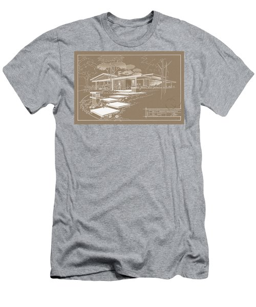301 Cypress Drive - Sepia Men's T-Shirt (Athletic Fit)