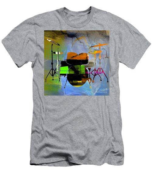 Drums Men's T-Shirt (Athletic Fit)