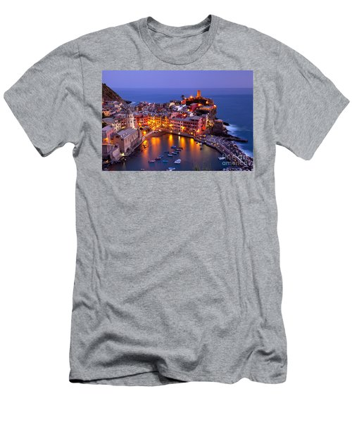 Men's T-Shirt (Athletic Fit) featuring the photograph Cinque Terre by Brian Jannsen