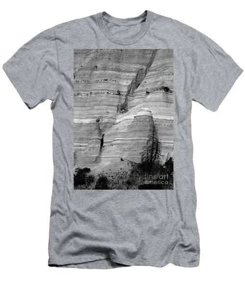 New Mexico - Tent Rocks Men's T-Shirt (Athletic Fit)