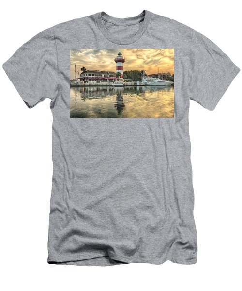 Lighthouse On Hilton Head Island Men's T-Shirt (Athletic Fit)
