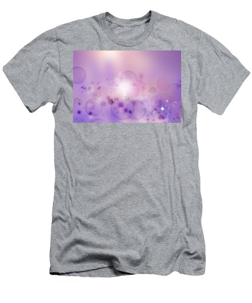 Abstract Background Men's T-Shirt (Athletic Fit)