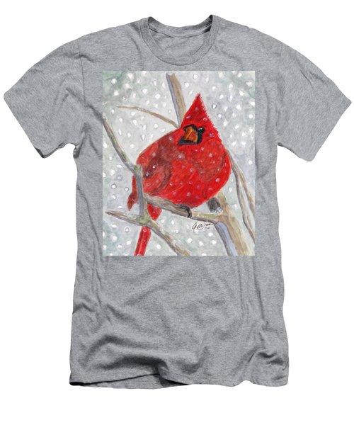 A Cardinal Winter Men's T-Shirt (Athletic Fit)