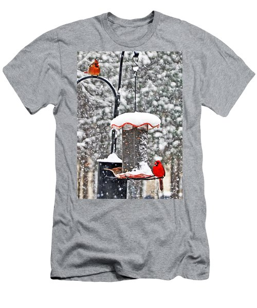 A Cardinal Winter Men's T-Shirt (Athletic Fit)