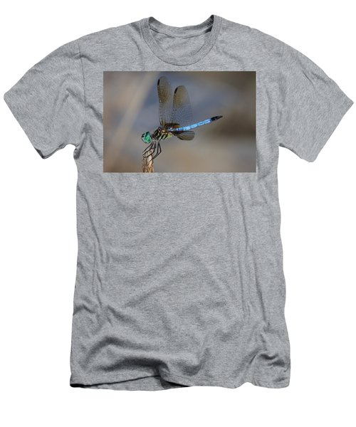 A Dragonfly Iv Men's T-Shirt (Slim Fit) by Raymond Salani III