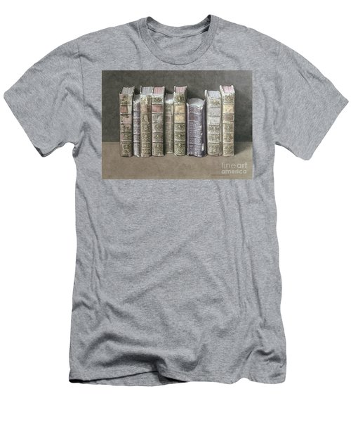 A Fine Library Men's T-Shirt (Athletic Fit)
